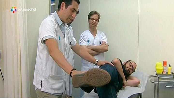 Sigue andando al sustituirle el músculo de la pierna por uno de la espalda