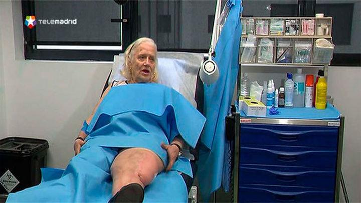 El hospital 12 de Octubre salva la pierna a una anciana con una prótesis total