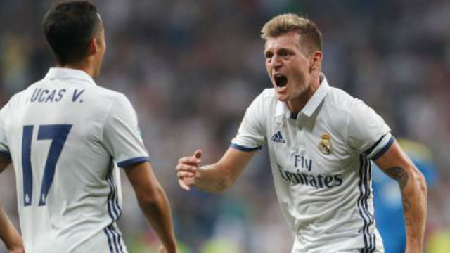 2-1. El Madrid vence al Celta con un gran gol de Kroos