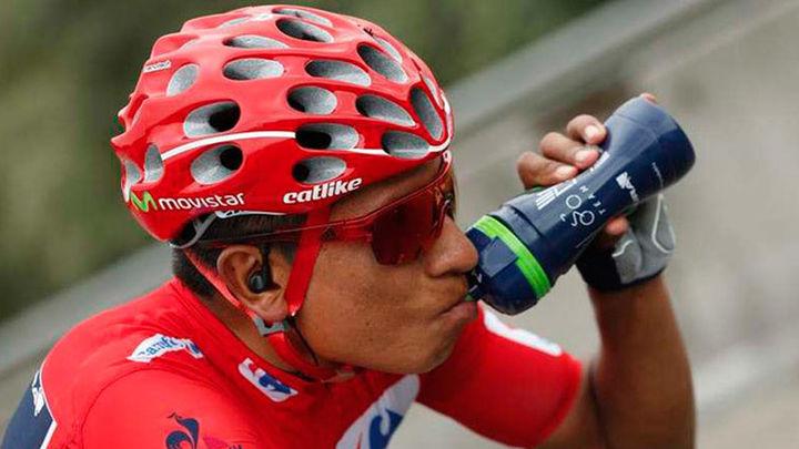 Vuelta: Nairo Quintana gana en Lagos de Covadonga, de nuevo líder