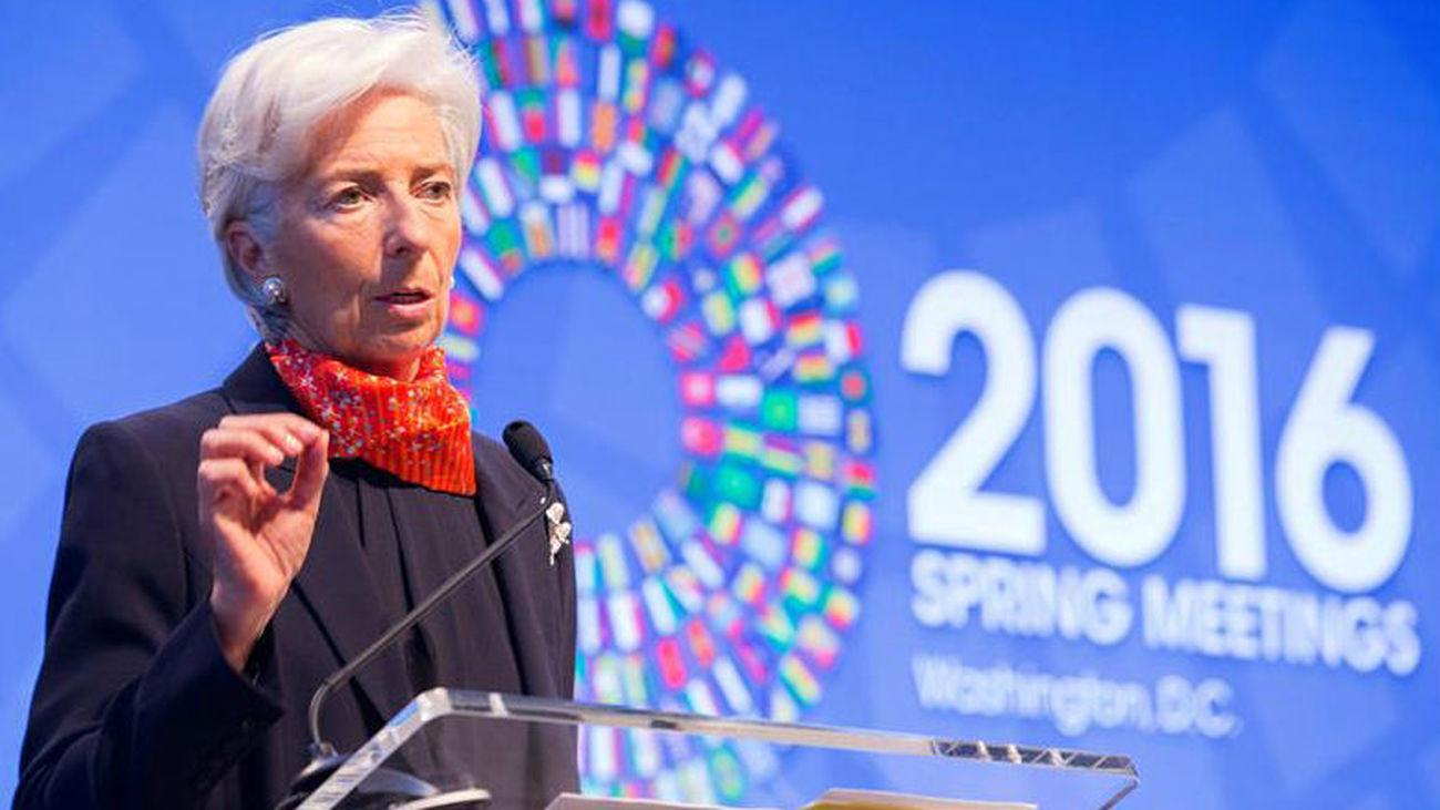 """Lagarde reclama al G-20 medidas """"contundentes"""" para esquivar la """"trampa"""" del bajo crecimiento"""