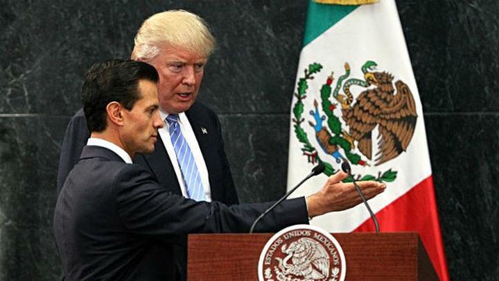"""Trump dice que México pagará el muro aunque """"ellos no lo saben"""""""
