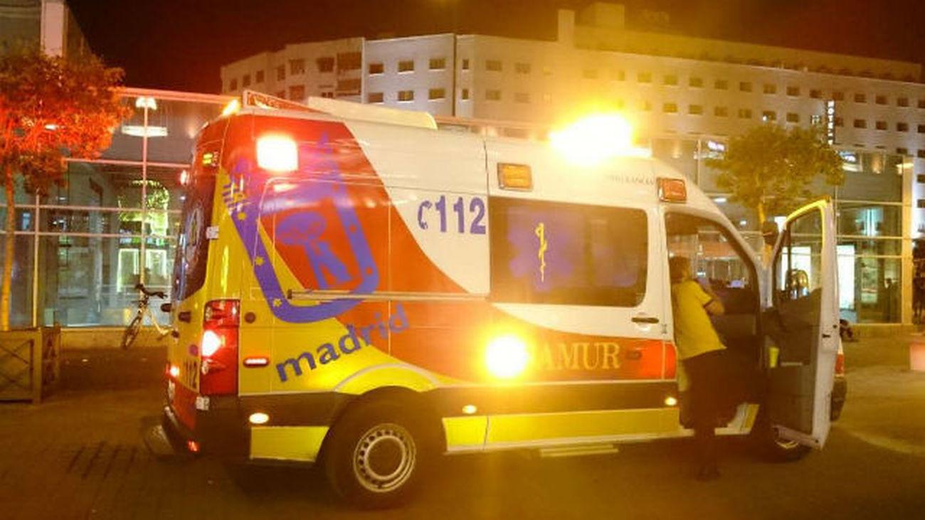 Ingresado en el Marañón un hombre en estado grave al sufrir un golpe de calor