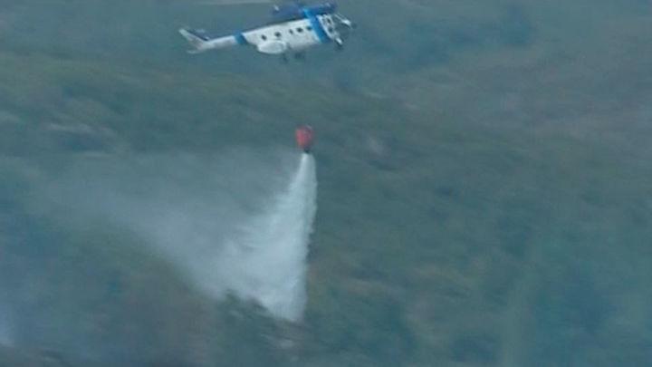 Se declara otro incendio en Galicia, en Orense ya han ardido 4000 hectáreas