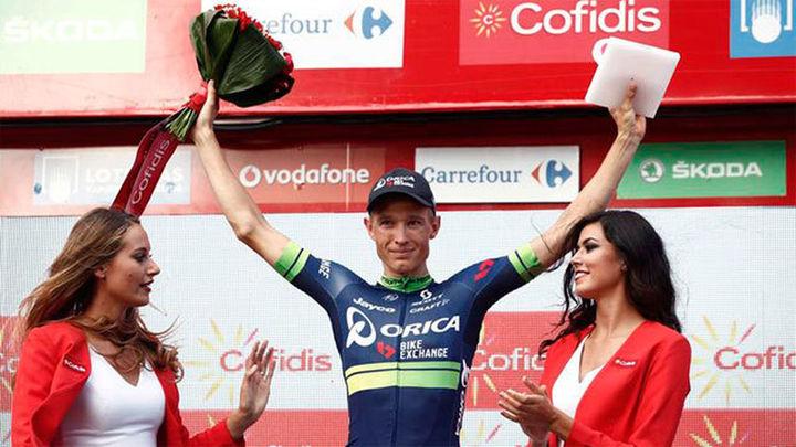 Vuelta: Nielsen sorprende en Gandía y Quintana sigue líder