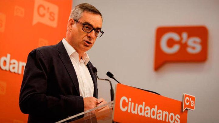 """C's advierte a Sánchez de que """"no hay otra alternativa al gobierno en minoría del PP"""""""