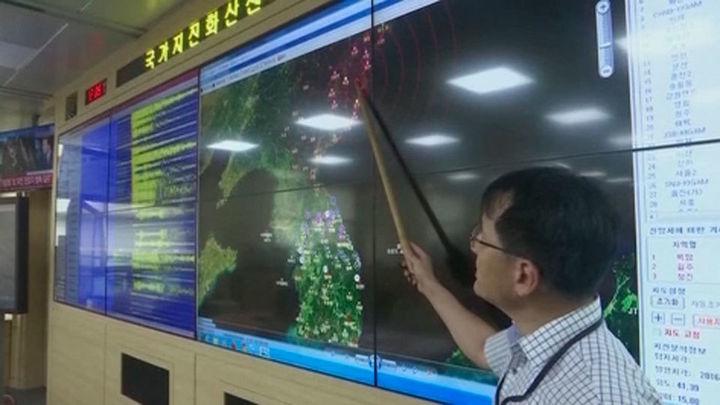 Corea del Norte detona una nueva bomba atómica que causa un seismo