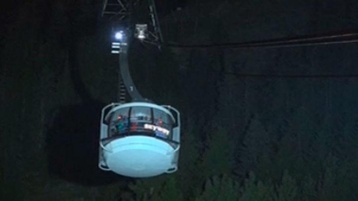 Reparado el teleférico del Mont Blanc y rescatadas las 33 personas atrapadas