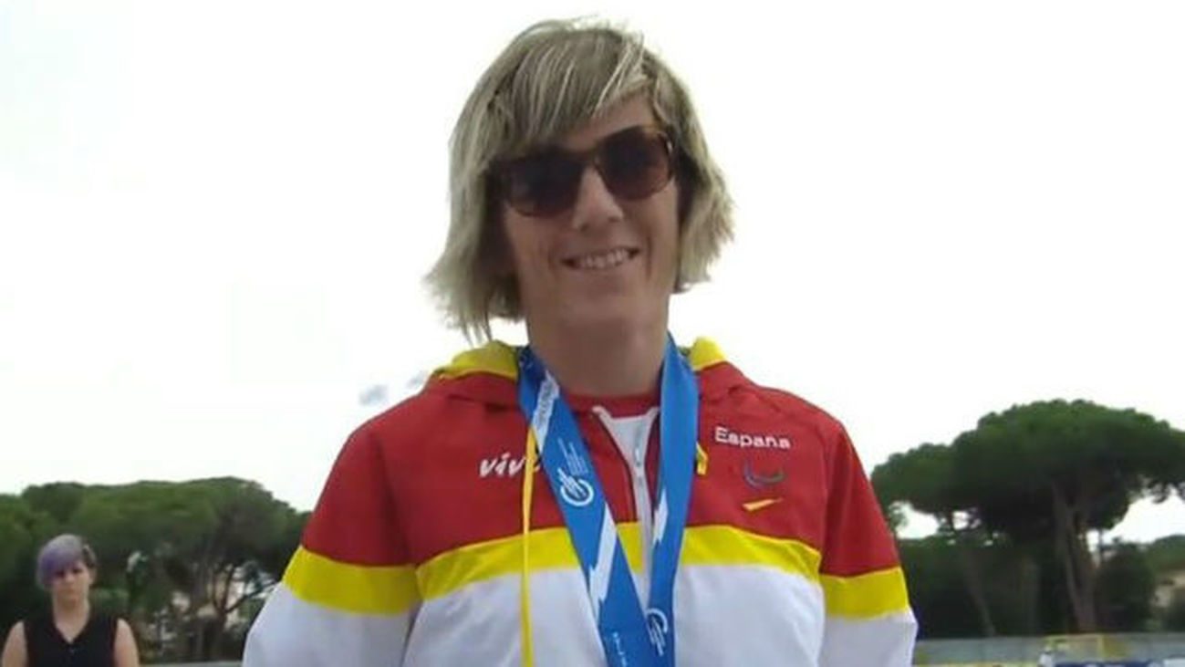 Izaskun Oses gana el bronce en los 1.500 metros clase T13