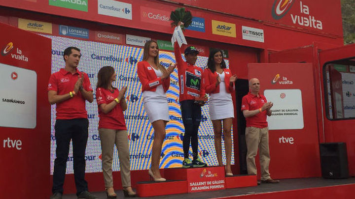 Latour se impone en Aitana, Quintana virtual ganador de la Vuelta