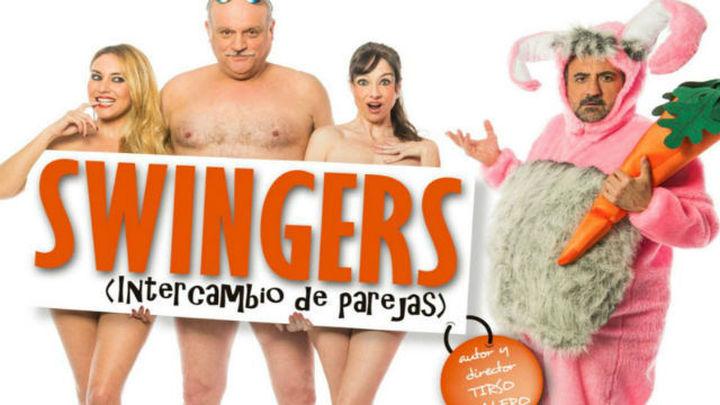 'Swingers, intercambio de parejas' se despide del Teatro Reina Victoria