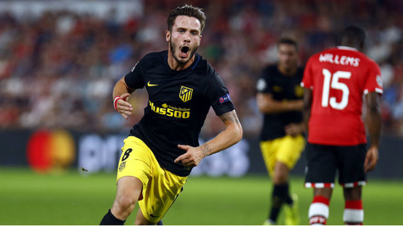 0-1. Saúl saca con vida al Atlético de su estreno en 'Champions'