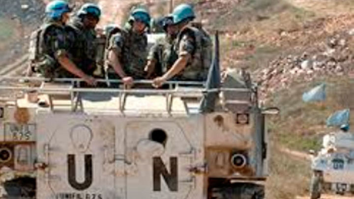 Estalla una mina al paso de un vehículo de cascos azules españoles en el Líbano