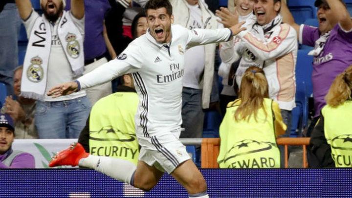 """Morata: """"Estas cosas pasan en este club y en este estadio"""""""