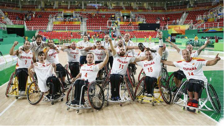 69-63. España elimina a Gran Bretaña y luchará por su primer oro paralímpico