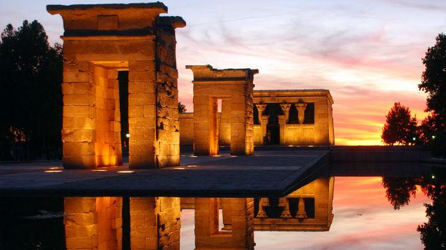 El templo de Debod se reabre al público el próximo martes