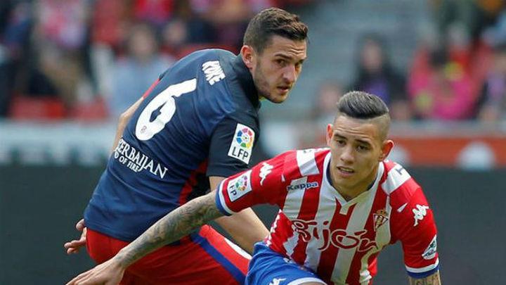 El Atlético comprueba su reacción ante un Sporting invicto