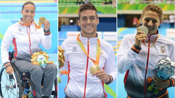 Paralímpicos: Perales y Oliver, oro; Marqués, plata