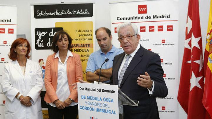 Madrid lidera la donación de médula con el 28 por ciento del total nacional
