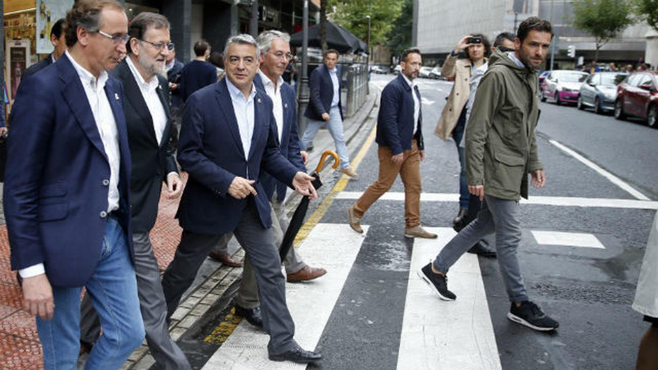 """Rajoy: """"La actitud de bloqueo de Sánchez es antipatriótica"""""""