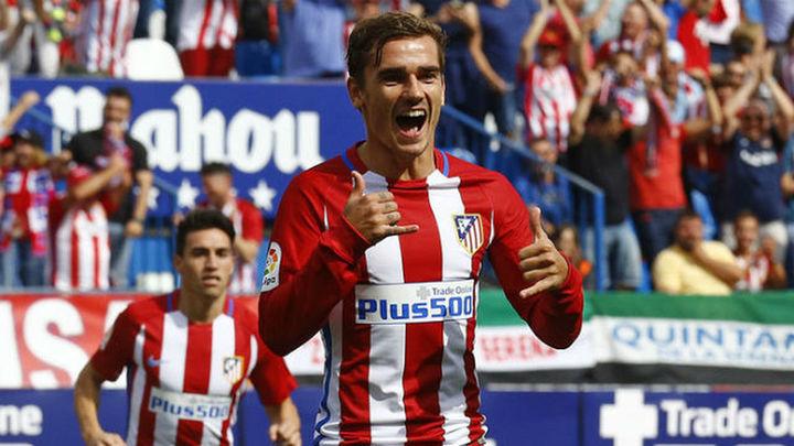 5-0. Griezmann y Gameiro desatan al Atlético ante el Sporting