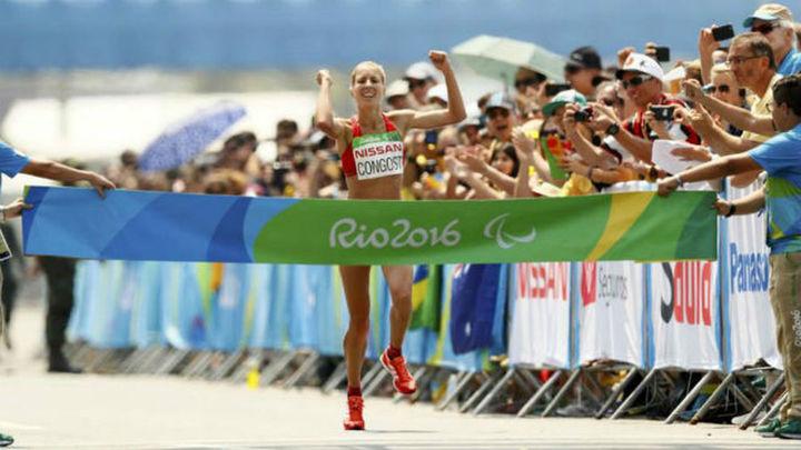 Paralímpicos: Congost, oro en el maratón; Suárez y Ait, platas