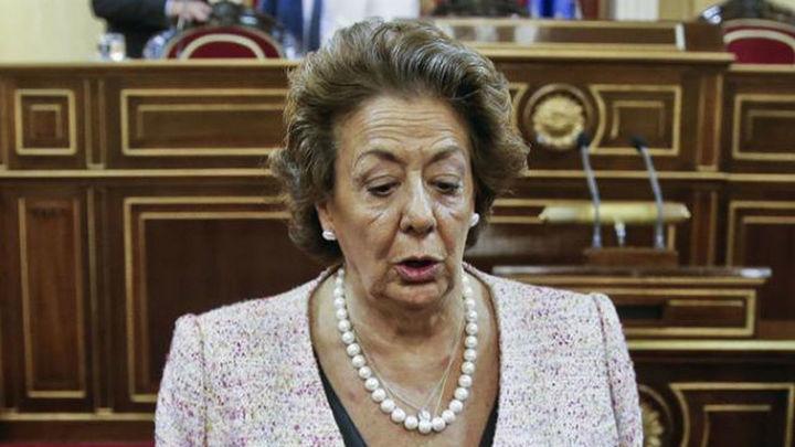 Rita Barberá se incorpora al Grupo Mixto del Senado