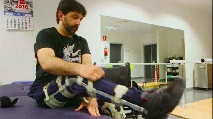 Terapia pionera con células madre en Madrid para los lesionados medulares