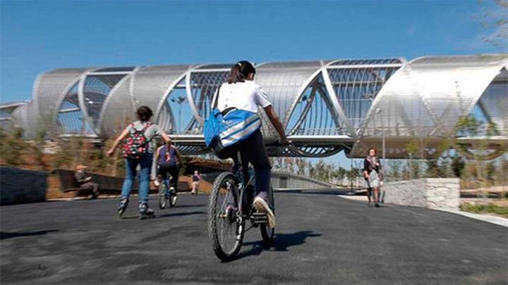 El Ayuntamiento mejorará la seguridad de los peatones en Madrid Río