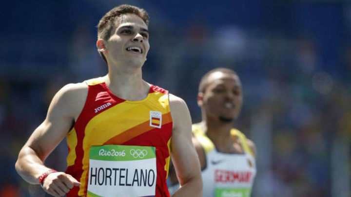 Bruno Hortelano recibe el alta médica