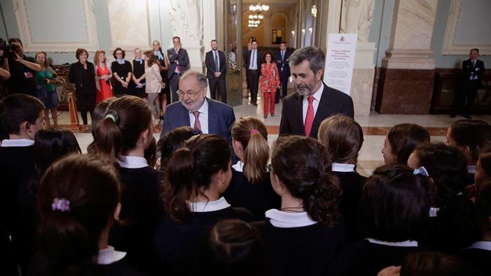 Carlos Lesmes inaugura las jornadas de Puertas Abiertas del Tribunal Supremo
