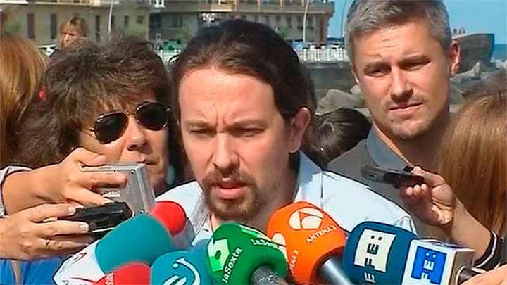 """Iglesias celebra ser """"primera fuerza de ámbito estatal"""" en Euskadi y liderar la """"oposición"""" en Galicia"""