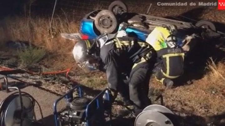 Muere un hombre tras chocar frontalmente con un camión en Campo Real