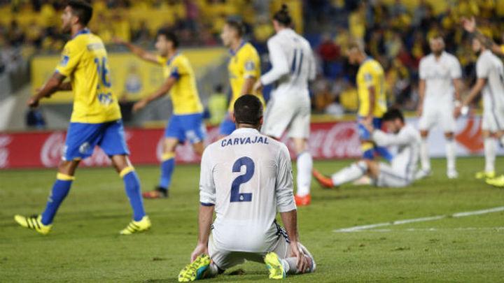 2-2. El Real Madrid no sentencia ante Las Palmas y se deja otros dos puntos
