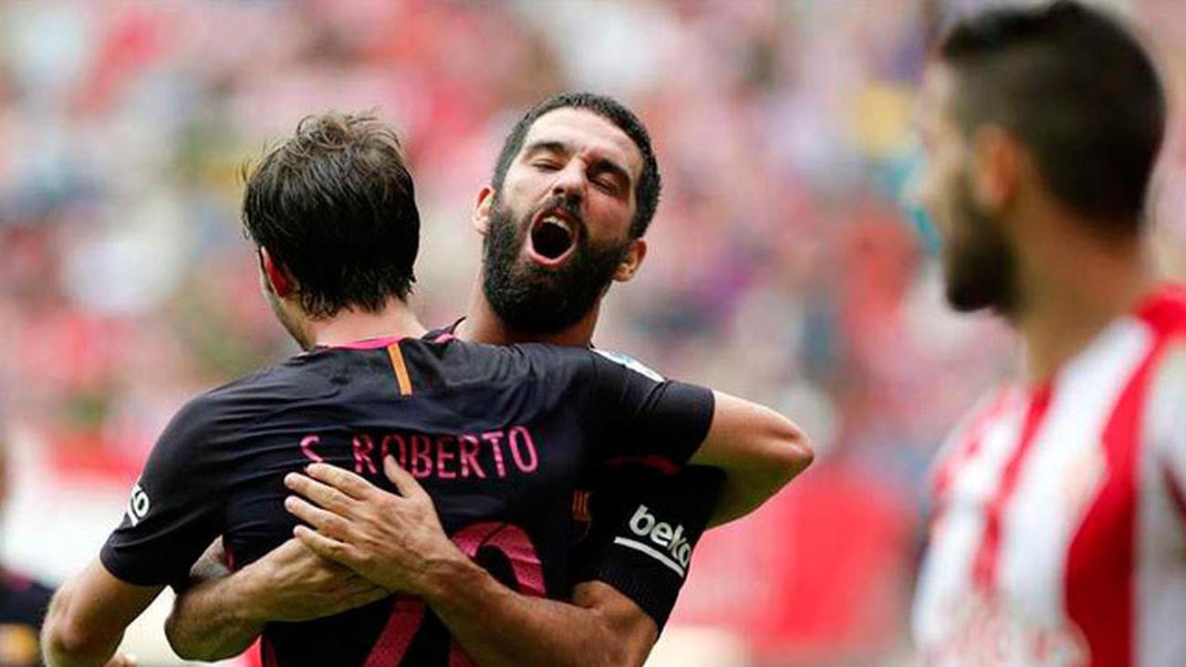 0-5. Barcelona golea sin demasiado esfuerzo al Sporting