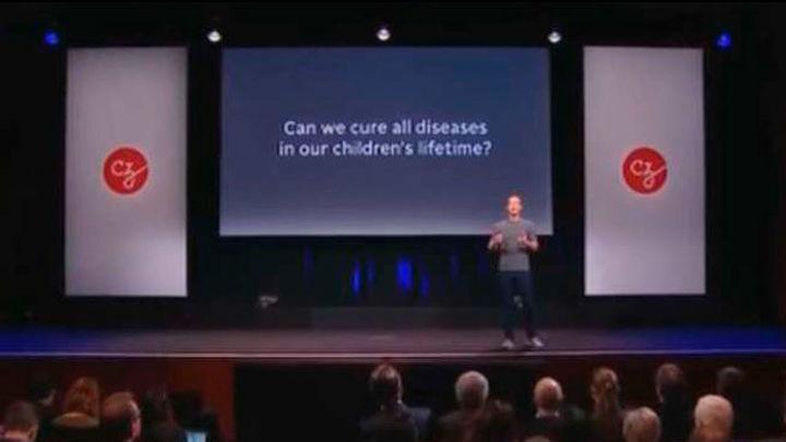 Zuckerberg donará 3.000 millones para la investigación de enfermedades