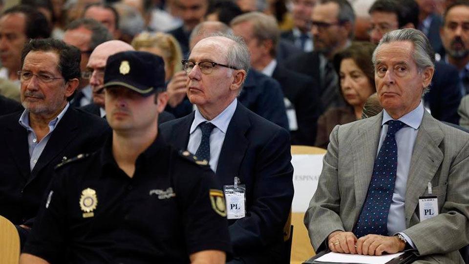 Comienza el juicio por las tarjetas opacas de Caja Madrid