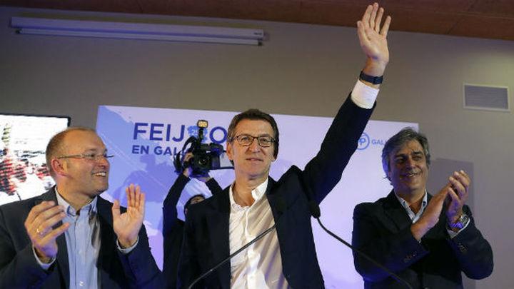 Feijóo consigue su tercera mayoría absoluta con 41 escaños