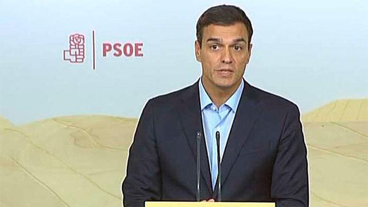 """Sánchez: """"Necesitamos que el PSOE tenga una única voz"""""""