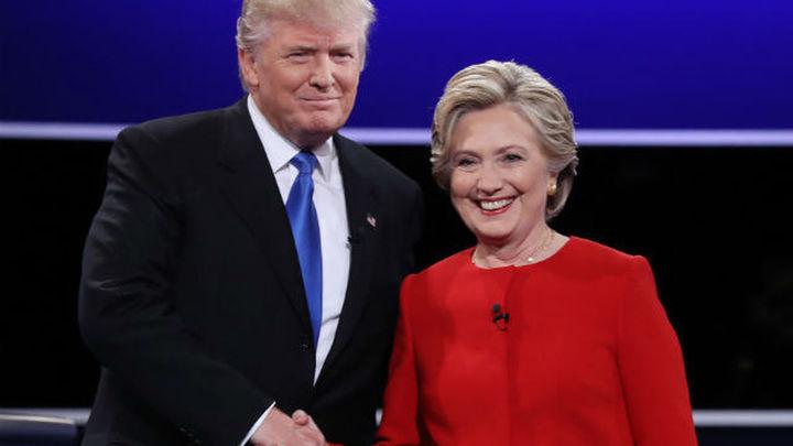Clinton gana en voto anticipado mientras Trump confía en la jornada electoral