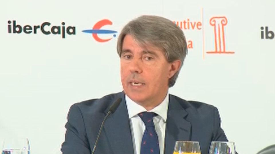 Ángel Garrido pedirá en la Asamblea que se pueda revocar a los senadores