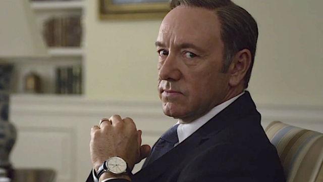 Frank Underwood, ficticio presidente de EEUU en 'House Of Cards'