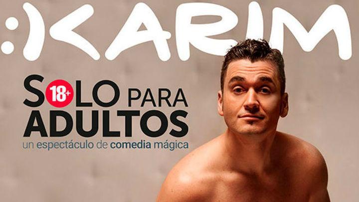 """Los Luchana estrenan 'Solo para adultos', un monólogo """"mágico"""" de Karim"""