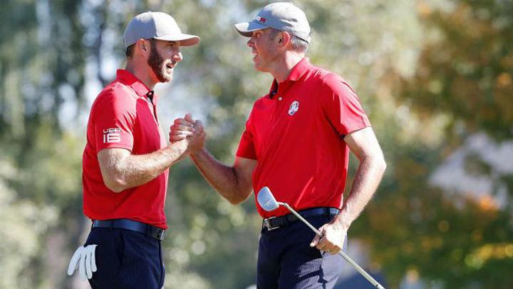 Ryder Cup: Estados Unidos arrolla a Europa en los 'foursomes' (4-0)