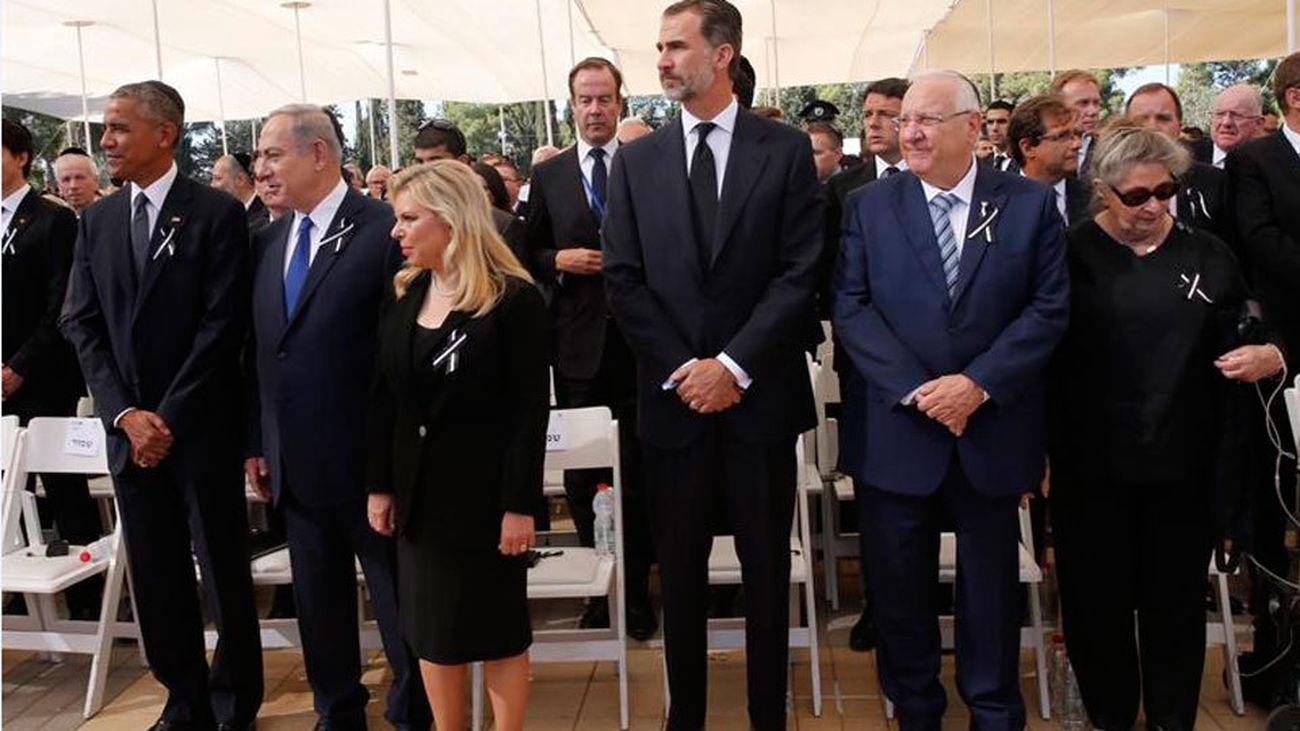 Solemne adiós al expresidente y Nobel de la Paz israelí, Simon Peres