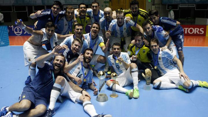 5-4. Argentina, campeona del Mundo de fútbol sala