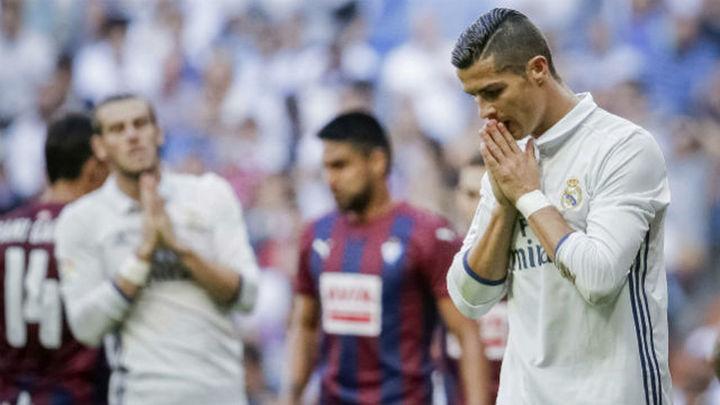 1-1. El Eibar conquista un punto histórico ante un Real Madrid fundido
