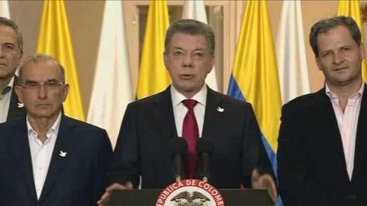 Santos dice que cese al fuego con FARC estará en vigor hasta 31 de octubre