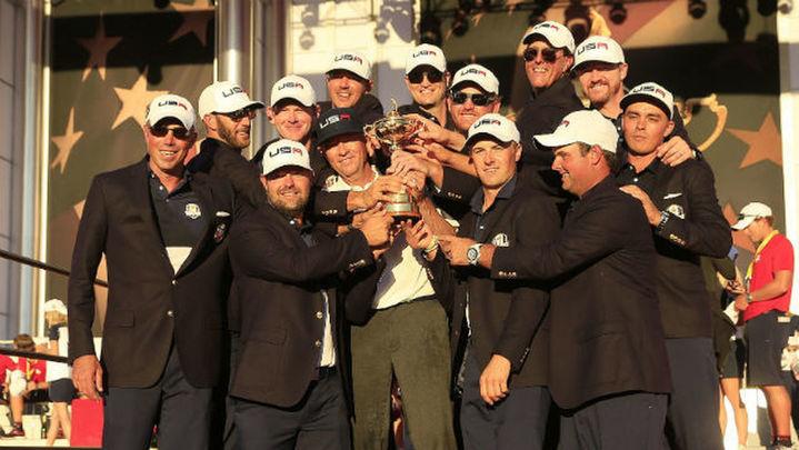 Estados Unidos recupera la Ryder Cup (17-11)
