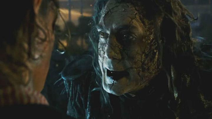 Javier Bardem, protagonista del trailer de 'Piratas del Caribe 5'